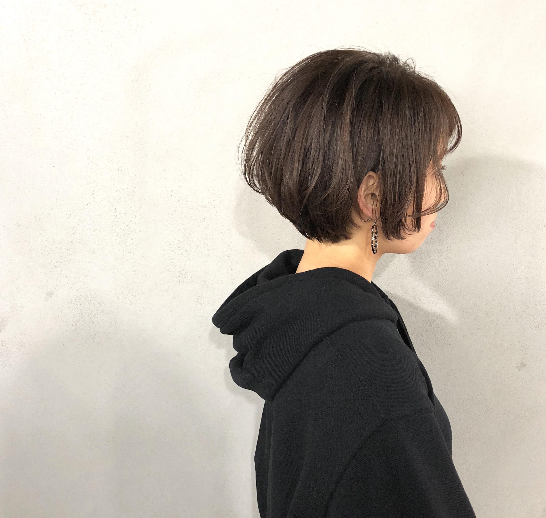ボブショートヘア